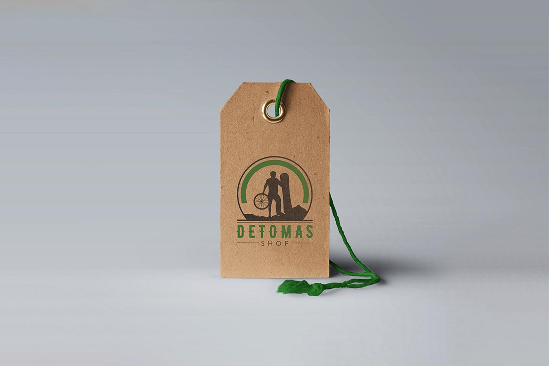 Detomas-shop-label-design