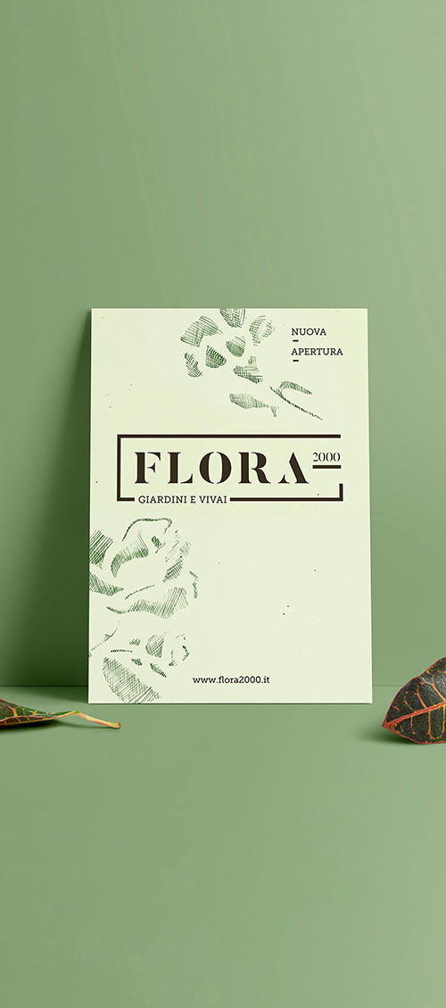 Flora 2000 restyling