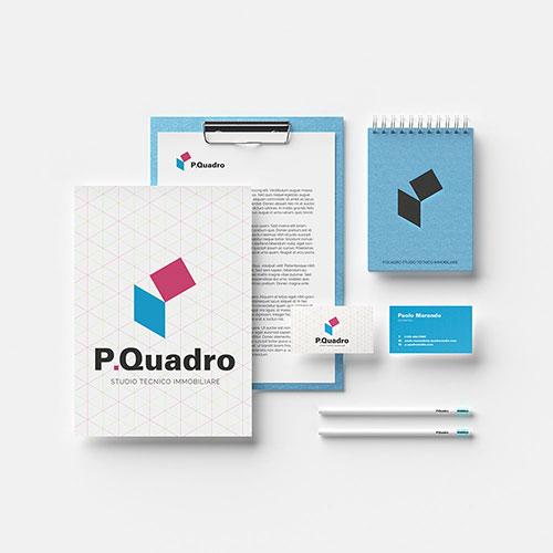 P. Quadro Studio logo