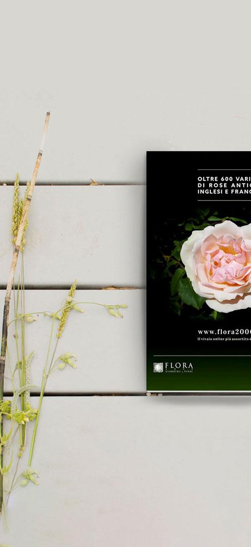 Flora 2000 advertising