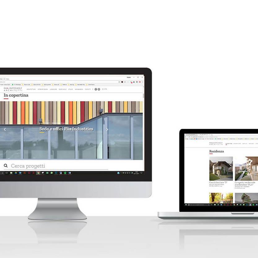RWA_Architetti website